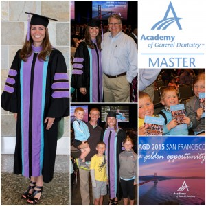 agd mastership award, dubuque dentist, dr. berning